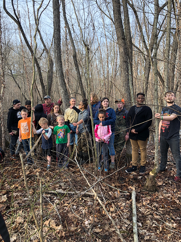 Engaging youth in a wetland bird study.